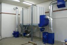 FU-S-50 Jednostka filtracyjna dla dużych ilości trocin